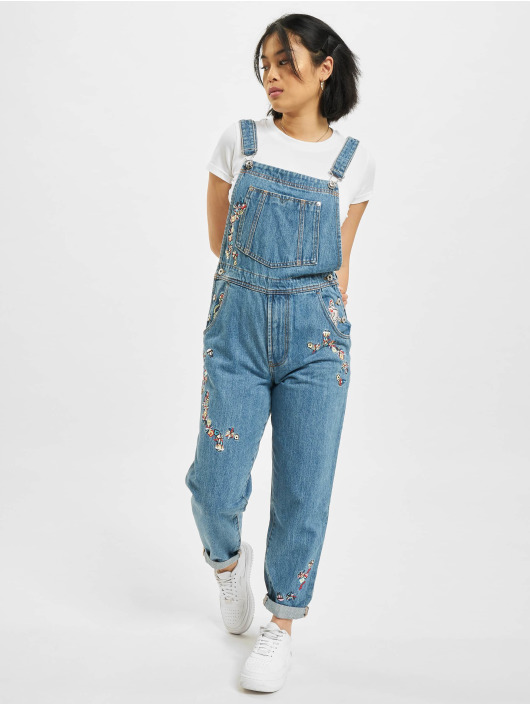 Diesel Kalhoty s laclem Overall modrý