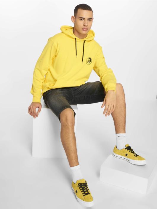 Diesel Mikiny UMLT-Brandon žltá