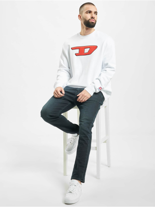 Diesel Pullover S-Division-D white