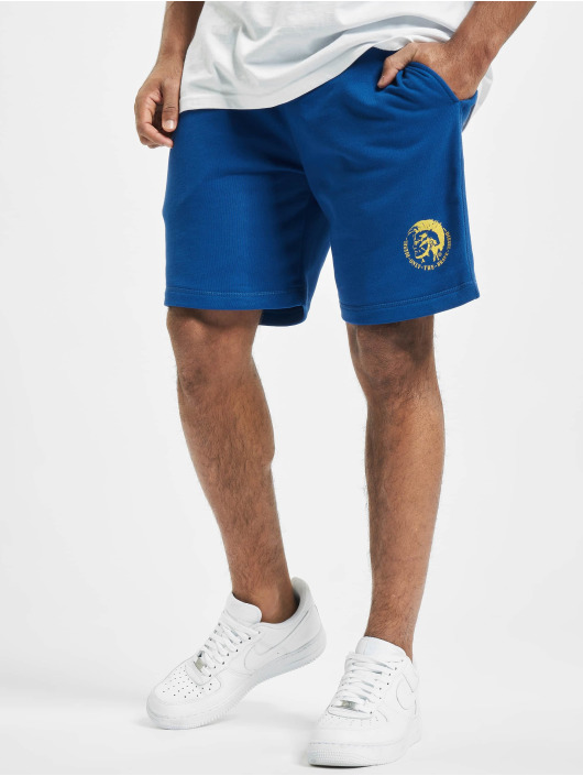Diesel Shorts UMLB-Pan blau