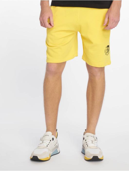 Diesel Shorts UMLB-Pan gelb