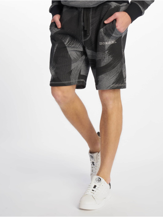 c99d893cf67 Diesel UMLB-Pan Shorts Dark Grey Melange