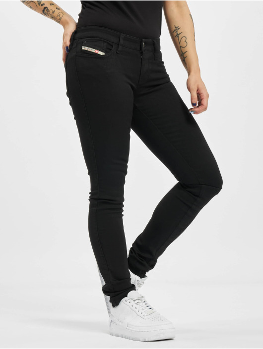 Diesel Skinny Jeans Sinzee-Low czarny