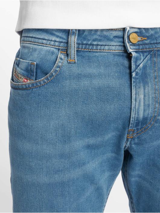Diesel Slim Fit Jeans Thommer modrá