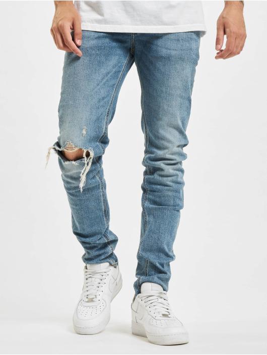 Diesel Slim Fit Jeans Sleenker modrá