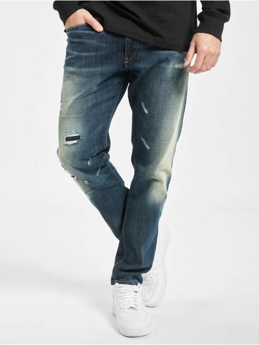Diesel Slim Fit Jeans D-Strukt modrý