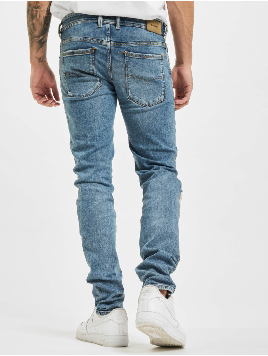 Diesel Slim Fit Jeans Sleenker modrý