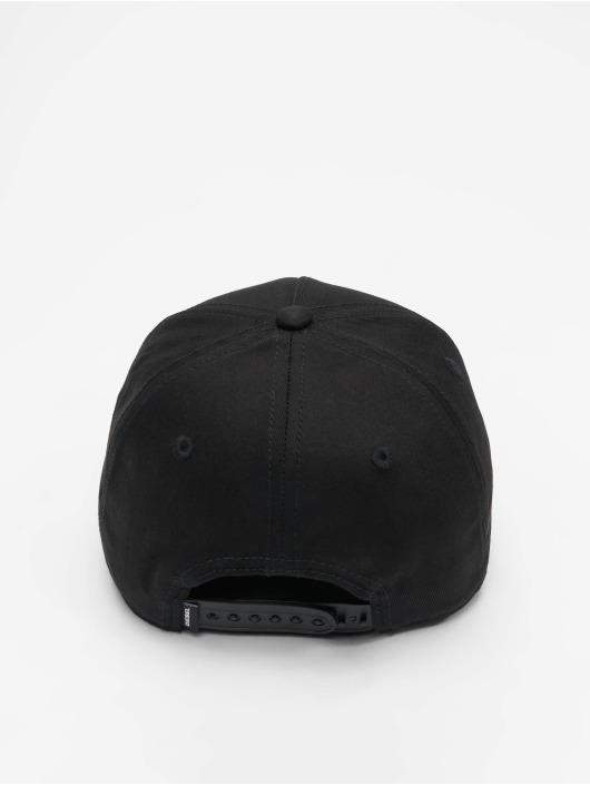 Diesel Snapback Cap Ciride schwarz