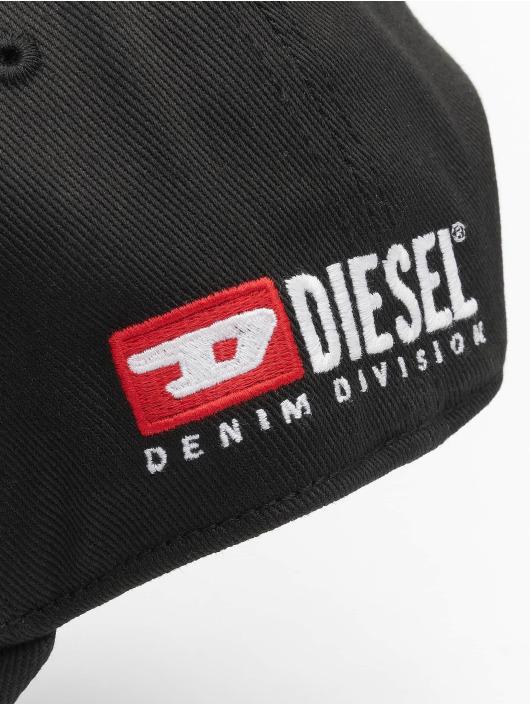 Diesel Snapback Cap Cedivis schwarz