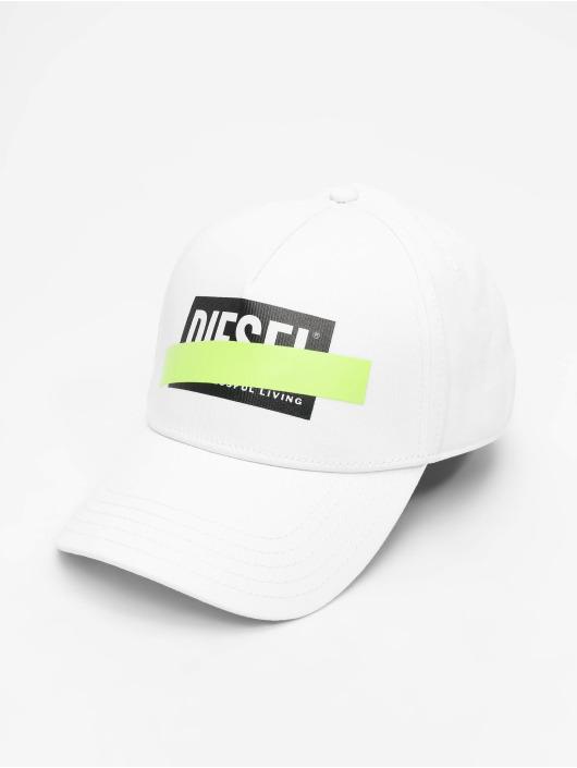 Diesel Snapback Cap Ciride weiß