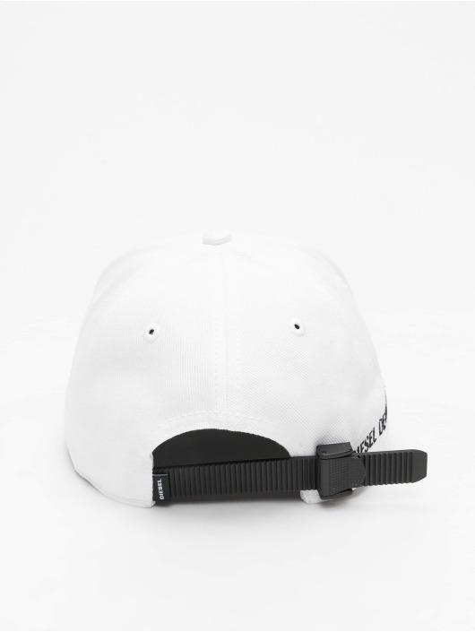 Diesel Snapback Cap C-Digra weiß