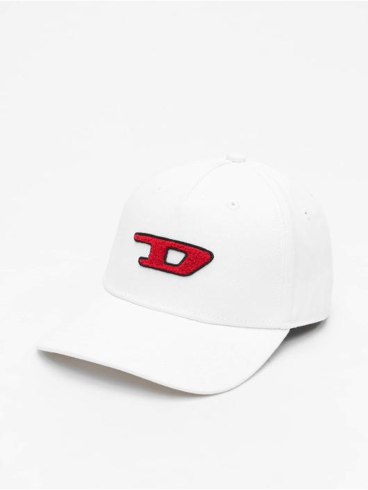 Diesel snapback cap C-Digra wit