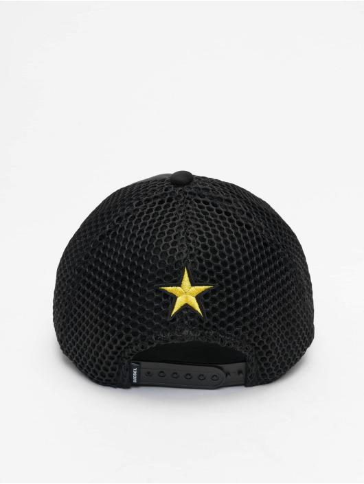 Diesel snapback cap C-DDDR zwart