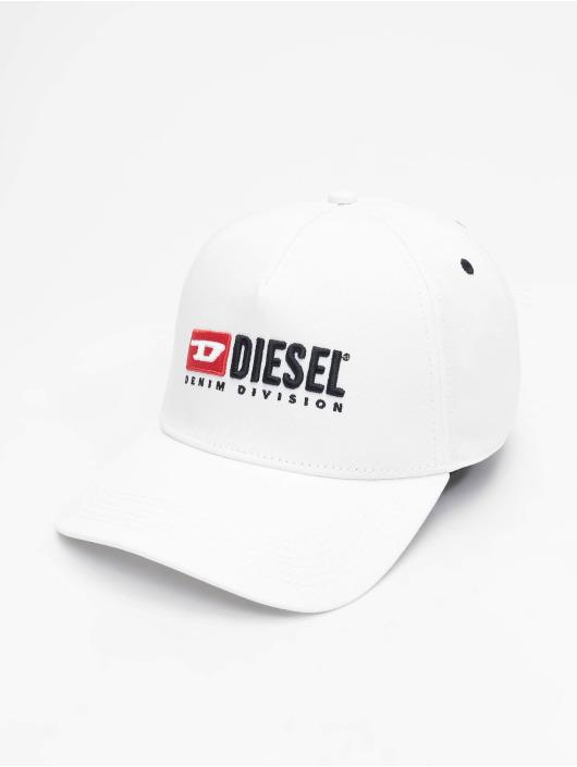 Diesel Snapback Caps Cakerym-Max bialy