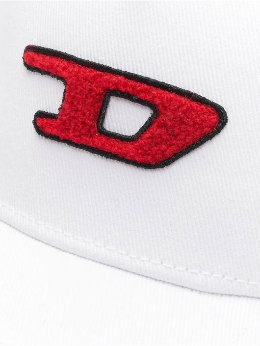Diesel Snapback Caps C-Digra bialy