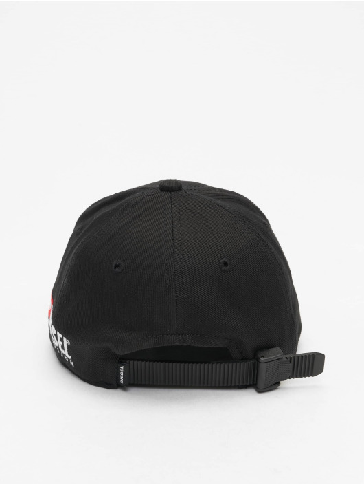 Diesel Snapback Caps Cedivis czarny
