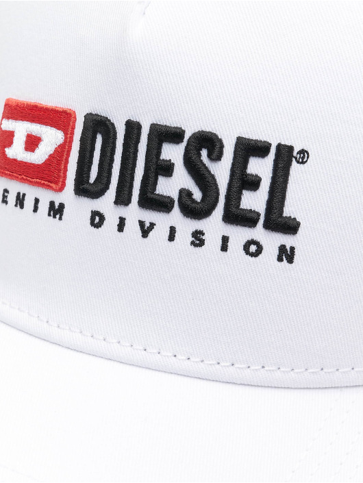 Diesel Snapback Caps Cakerym-Max hvit