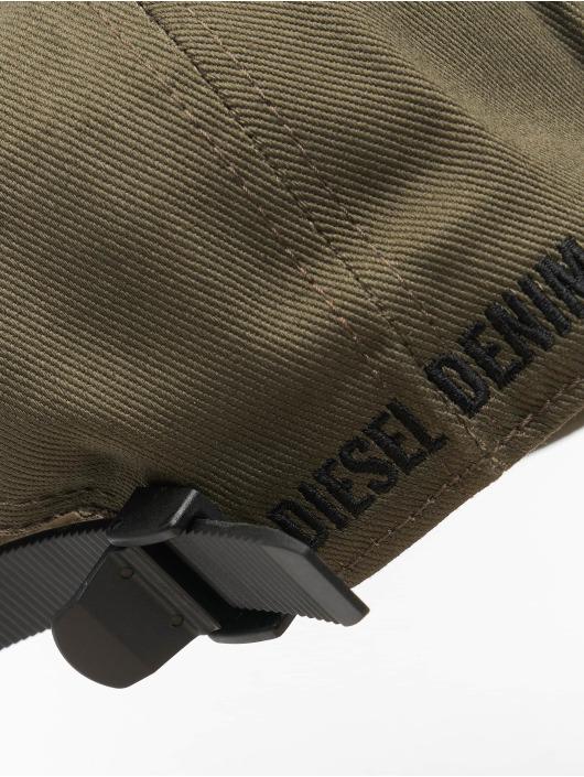 Diesel Snapback Caps C-Digra oliven