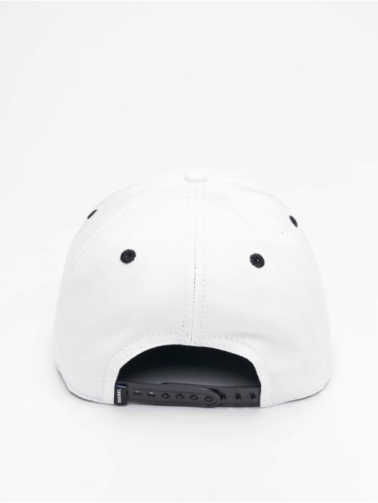 Diesel Snapback Caps Cakerym-Max valkoinen