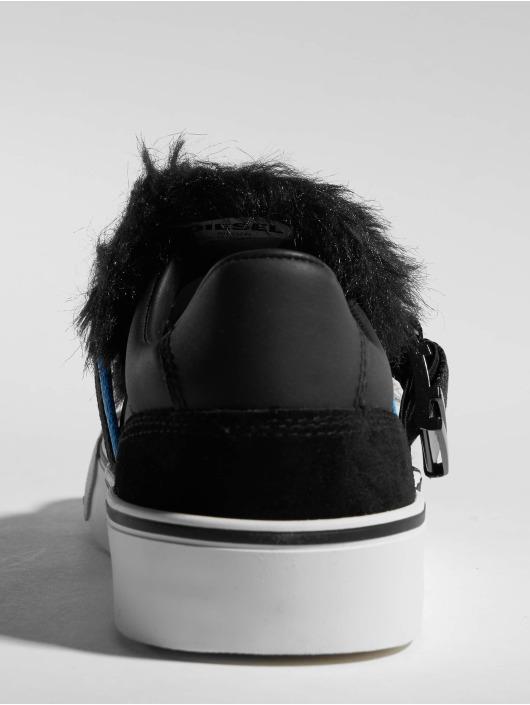 Diesel Sneakers 355 Flip Low Buckle black