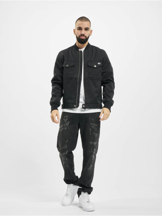 Diesel Straight Fit Jeans Larkee čern