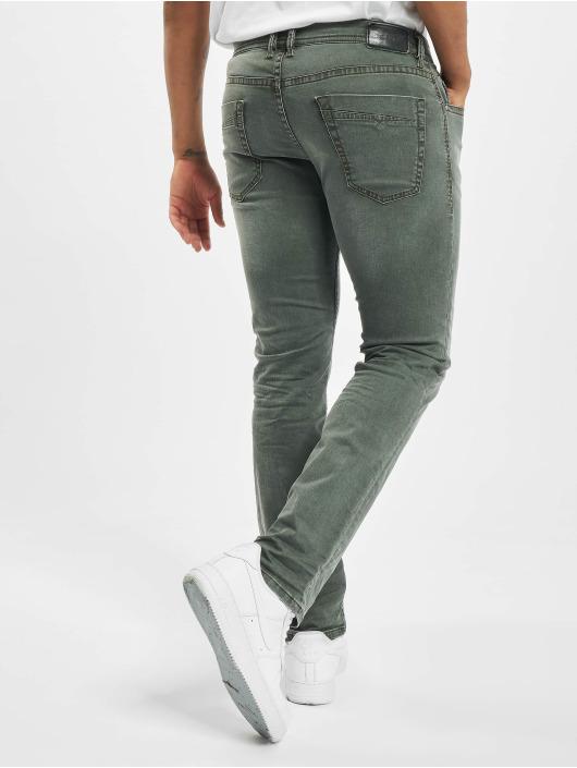 Diesel Straight Fit Jeans Akee šedá