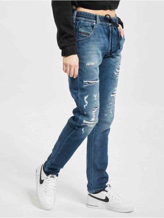 Diesel Straight Fit Jeans Krailey blå
