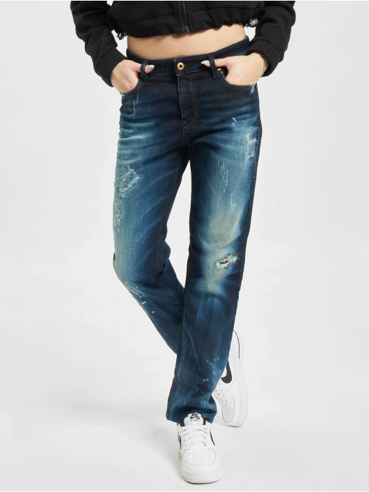 Diesel Straight Fit Jeans Rizzo blå