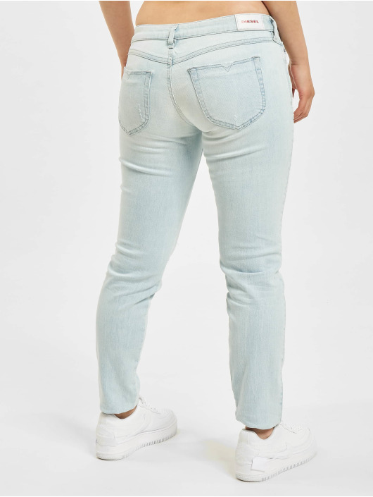 Diesel Straight Fit Jeans Gracey blå