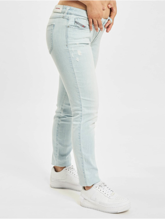 Diesel Straight Fit Jeans Gracey blau