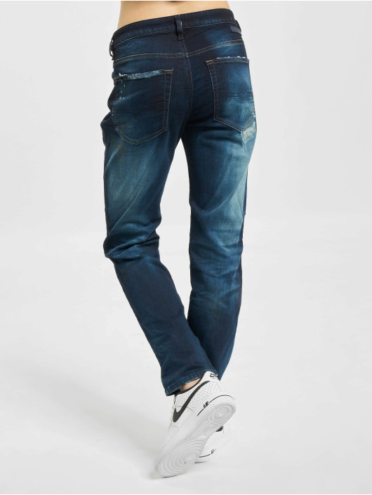 Diesel Straight fit jeans Rizzo blauw