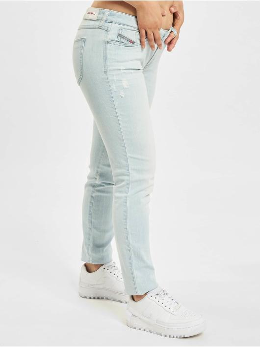 Diesel Straight Fit Jeans Gracey blue