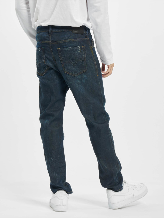 Diesel Straight Fit Jeans Jifer modrý