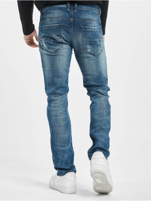 Diesel Straight Fit Jeans Thommer modrý