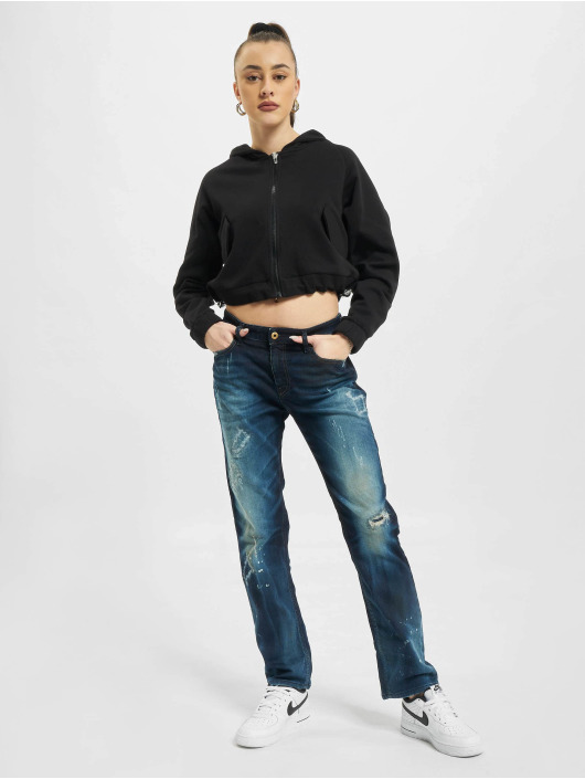 Diesel Straight Fit Jeans Rizzo modrý