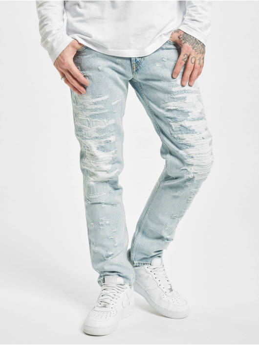 Diesel Straight Fit Jeans Type modrý