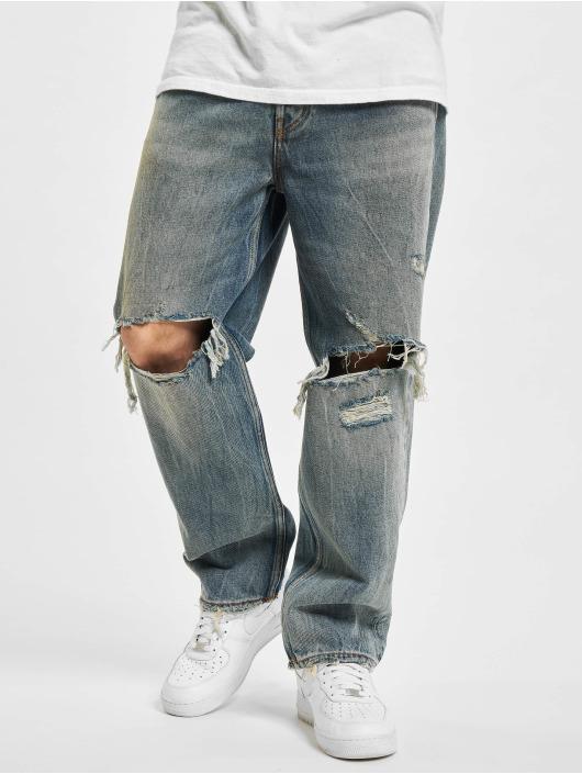 Diesel Straight Fit Jeans Dagh XP modrý