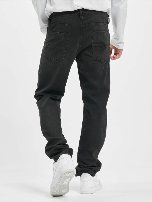 Diesel Straight Fit Jeans Larkee svart
