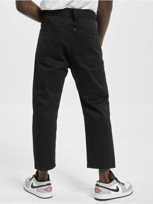 Diesel Straight Fit Jeans Brad svart