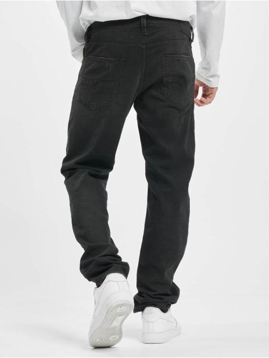Diesel Straight fit jeans Larkee zwart