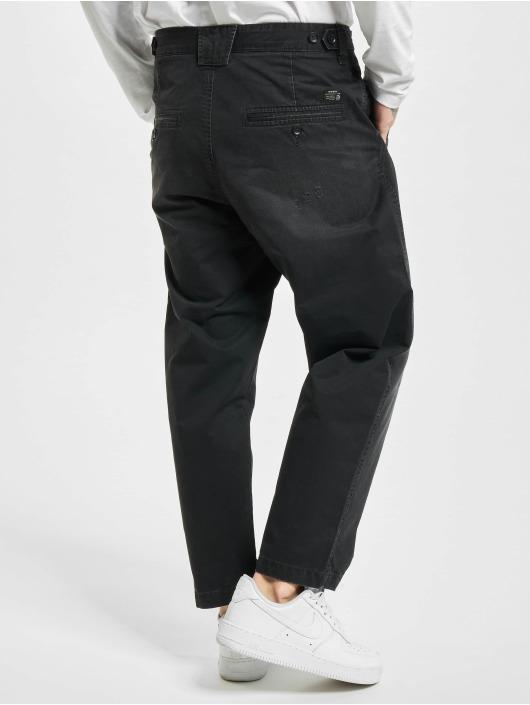 Diesel Straight fit jeans P-Webbin zwart