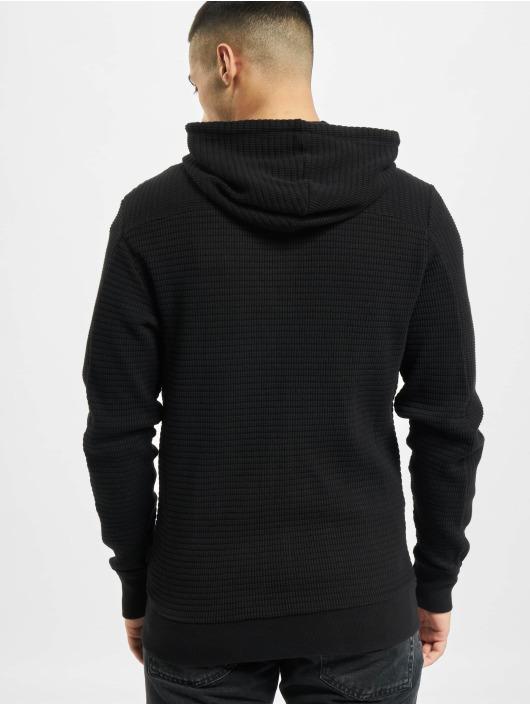 Diesel Sweat capuche zippé Knit noir