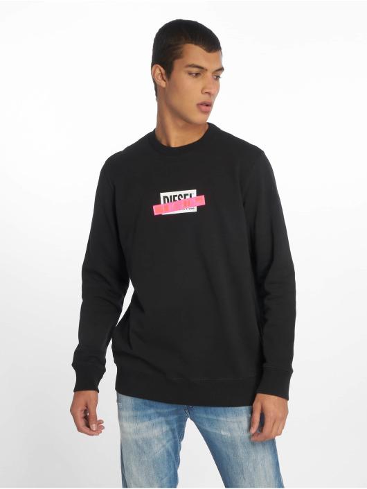 Diesel Swetry S-Gir-Die czarny