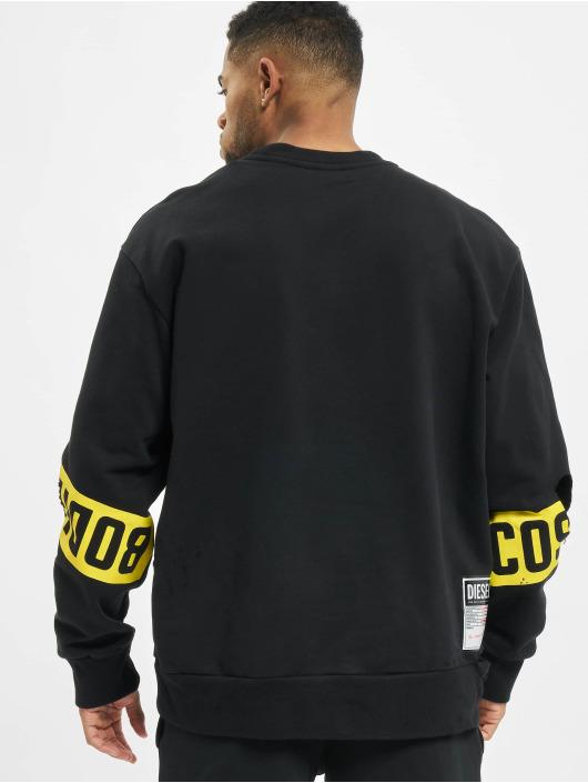 Diesel Swetry S-Bay-Holes czarny