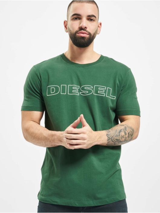 Diesel T-Shirt UMLT-Jake grün