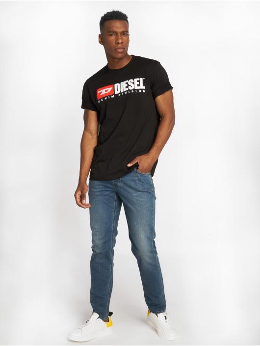 Diesel T-Shirt T-Just-Division schwarz