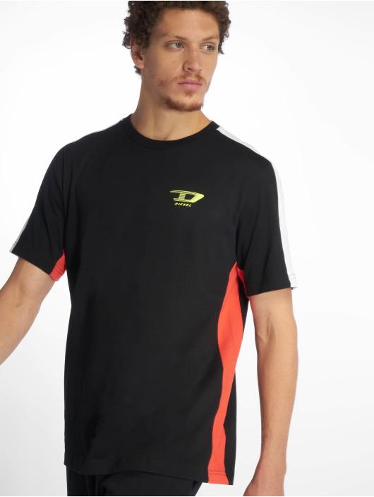 Diesel T-Shirt Harus schwarz