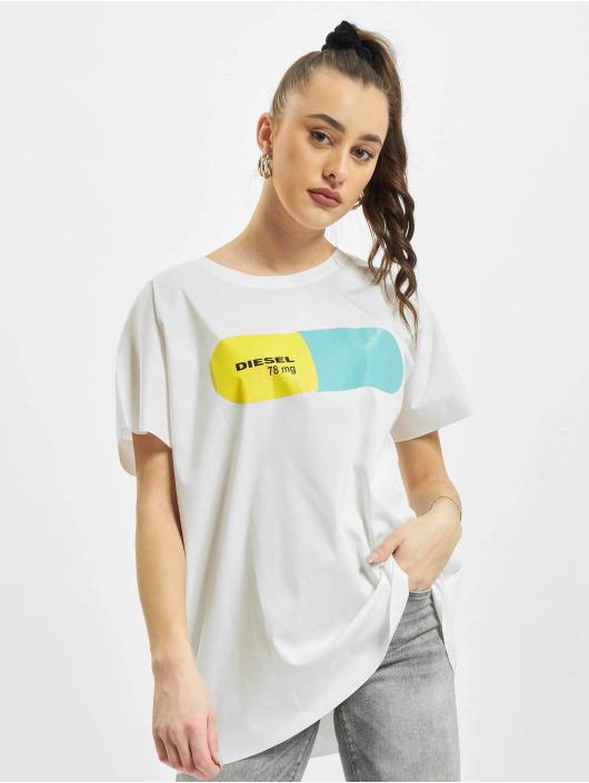 Diesel T-shirt T Hanna Ba vit