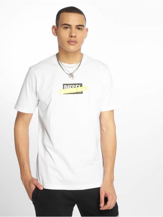 Diesel T-Shirt Just-Die weiß