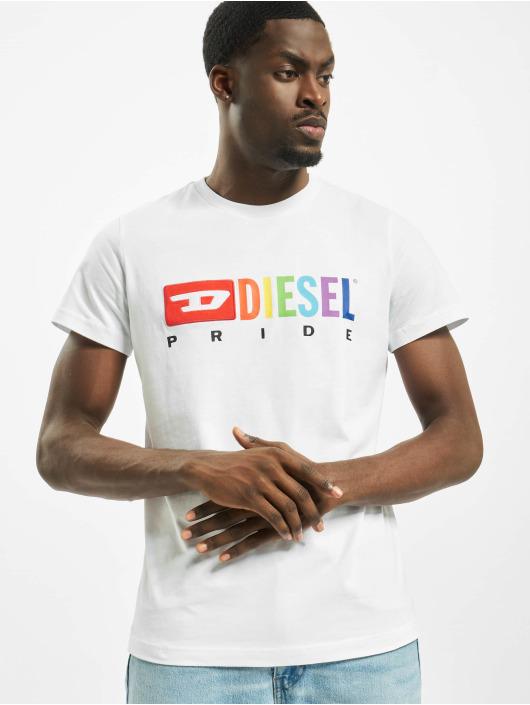 Diesel T-Shirt Bmowt-Diego weiß